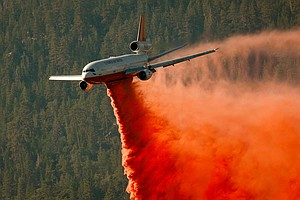 Bigger, Faster Air Tankers Help Forest Service Tackle Wildfires