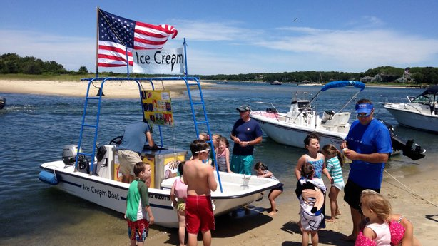 Around the country, a handful of vessels like the Ice Cream Boat peddle food on oceans, lakes and rivers.