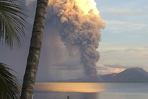 Volcanoes In Iceland, Papua New Guinea, Keep Residents On...