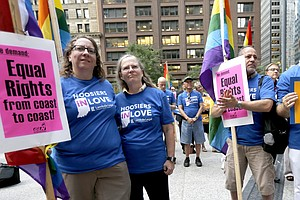 Appeals Court Strikes Wisconsin And Indiana Same-Sex Marr...