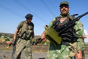 Ukraine's President Says Cease-Fire Deal Reached With Sep...