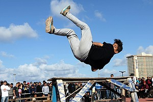 Parkour May Run, Flip, Dive And Slide Its Way Into Olympics