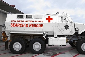 Photo for Remember When San Diego Unified Had An MRAP? District Says It Won't Happen Again