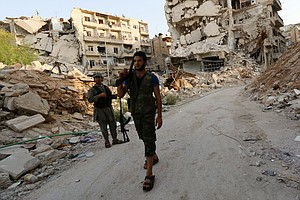 After A Long Wait, Syrian Rebels Hope The Weapons Will No...