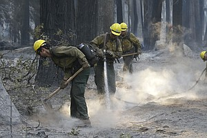 Largest Of Calif. Wildfires Destroys 10 Homes, Other Stru...