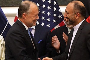 Afghanistan Signs Deal Allowing 10,000 U.S. Troops To Remain