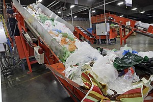 Ban On Single-Use Plastic Bags Is Enacted In California