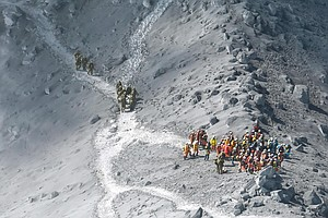 Toll From Japanese Volcano Reaches 48 Dead