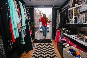 Make Room, Food Trucks. Mobile Fashion Stores Have Hit The Streets