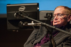 Stephen Hawking In Guest Vocal On Pink Floyd's New Album