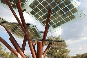 Israel's Solar-Powered 'Trees': For Smartphones And Commu...
