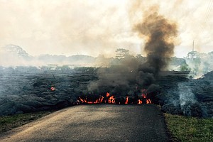 Evacuations Possible As Lava Continues To Flow From Hawaii Volcano
