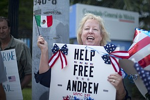 U.S. Marine In Mexican Jail Is Now Free, Mexican Judge Or...