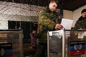 Ukraine's Separatist East Defies Kiev With Vote