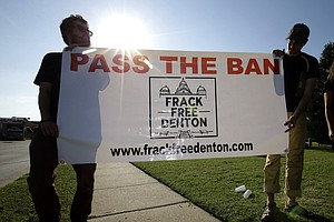 Voters In Texas City Approve Ban On Fracking