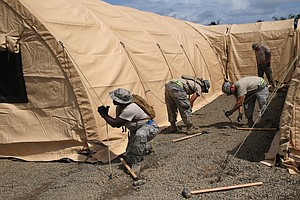 U.S. Military Response To Ebola Gains Momentum in Liberia