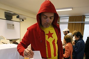 Binding Or Not, Catalans Express Themselves In Referendum...