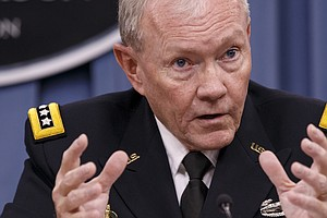 Gen. Dempsey Lands In Iraq As U.S. Presence Starts To Grow