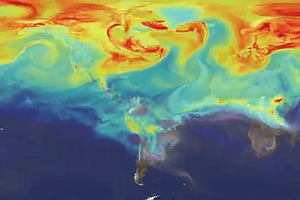 WATCH: How Carbon Dioxide Travels Around The Globe