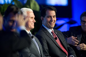 At GOP Governors Meeting, Immigration Casts A Wide Shadow