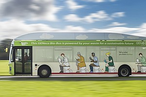 Poo Power: New British Bus Runs On Human Waste