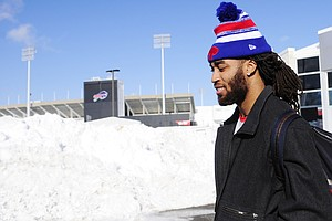 Buffalo Blizzard Brings Odd NFL Game: Free, And Far From Home