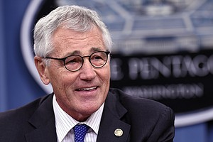 Defense Secretary Chuck Hagel Will Step Down