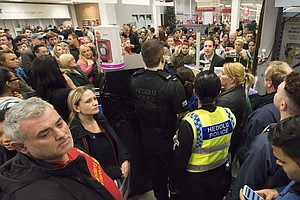 America's Black Friday Craziness Has Crossed The Pond