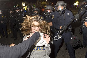 Protests Over Police Killings Turn Violent In Berkeley, Calif.