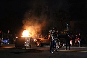 Bay Area Protests Turn Violent For Second Night In A Row