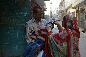 Pakistan Keeps On Vaccinating Despite Tough Terrain And Terror Threat