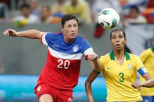 U.S. Women's Soccer Team Finishes Second In Brazilian Tournament