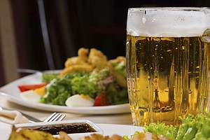 If You're Toasting To Health, Reach For Beer, Not (Sparkl...