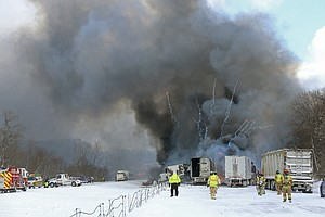 Massive Pile-Up Snares 123 Cars On Michigan Interstate