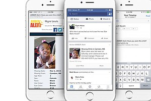 Facebook To Post Amber Alerts To Help Find Missing Kids