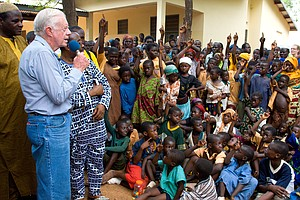 'Watch Out, Guinea Worm, Here Comes Jimmy Carter'