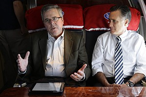 What If Mitt and Jeb Really Do Go At It, Hammer and Tong?