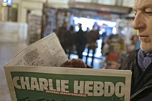 Post-Attack Edition Of 'Charlie Hebdo' Sells Out In France