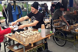 Food Trucks, Share The Lane. Food Bikes Are Merging Into ...