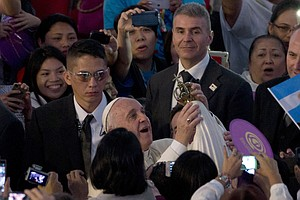 Pope, On Visit To Philippines, Defends Catholic Ban On Co...