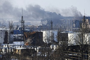 Ukraine Launches Major Offensive To Retake Donetsk Airport