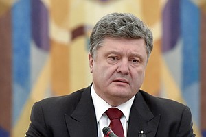 Ukraine's President Hopes To Revive Shattered Peace Process