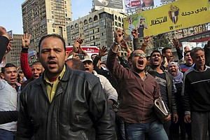 Several Killed In Egypt Amid Clashes Marking Anniversary Of Uprising