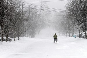 Winter Storm Winds Down, But Blizzard Conditions Persist