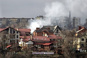 A Rise In The Civilian Death Toll As Ukraine Fighting Increases
