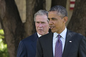 Polarization Vortex: Obama, Bush Approval Shows Widest Pa...