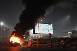 More Than Two Dozen Killed In Riot At Egyptian Soccer Match