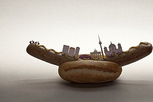 Visual Feast: If The World's Major Cities Were Made Of Food