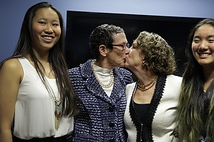 Same-Sex Couple Gets Married In Texas, After Judge Defies...