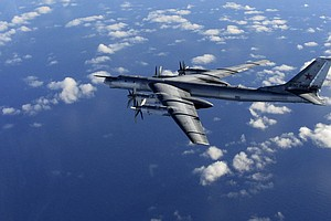 British Fighter Jets Escort Russian Bombers Away From Coast Of U.K.